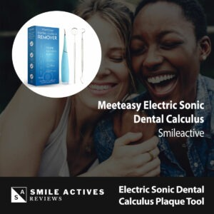 Electric Sonic Dental Calculus Plaque Remover Tool Kit
